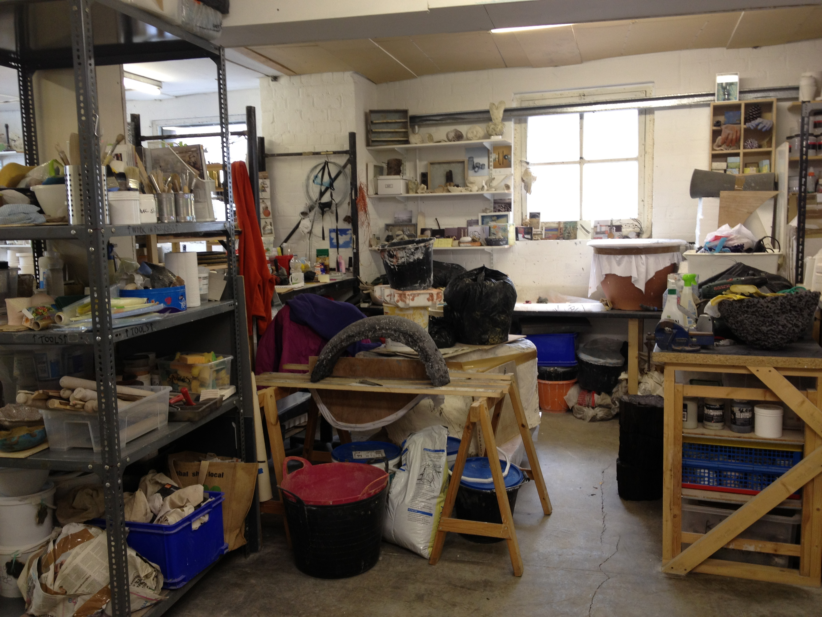 Moving Studio to Edinburgh Sculpture Workshop